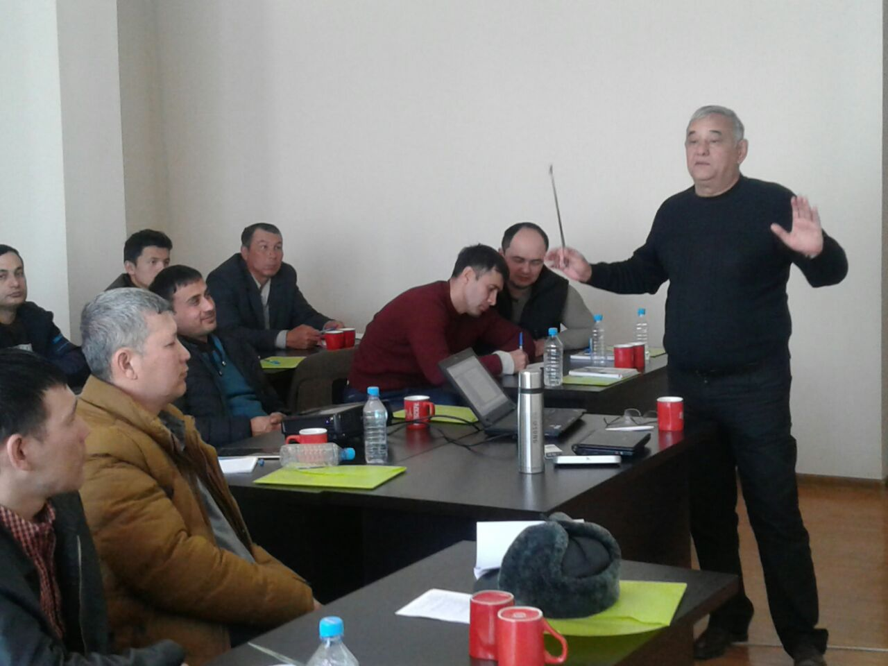 A Three-Day Training for Refrigeration Specialists in Nukus
